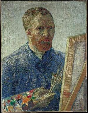 Van Gogh, uno de los artistas actualmente más cotizados de su época, reconocía a su hermano Theo en una de estas cartas que algunos copian y otros no, yo empecé por azar y siento que siempre se aprende y uno encuentra consuelo y compañía en la obra del otro.