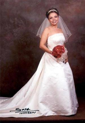 I.I.S. Ma. Josefina Rodríguez Castillo el día de su enlace matrimonial con el Dr. Rubén Alcántara Peraza, el 15 de febrero de 2003