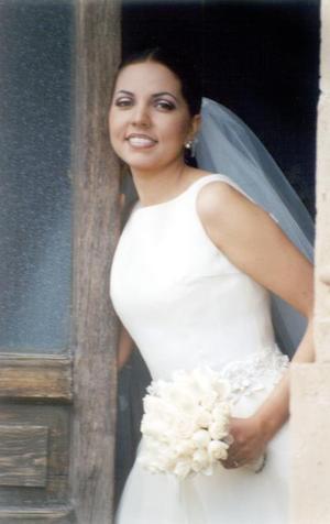 Srita. Marcela Rodríguez Martínez unió su vida a la del Sr. Osvaldo Pimentel Ramírez en la ciudad de Durango, Dgo.