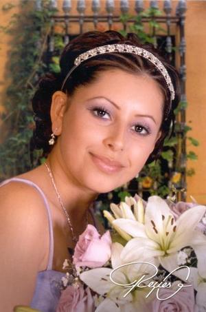 Srita. Diana Alejandra García  Cháirez cumplió XV años recientemente
