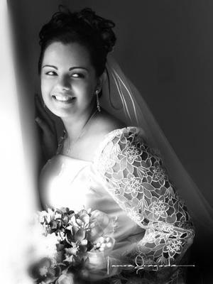 Lic. Martha Elba García Helguera el día de su enlace matrimonial con el Lic. Jorge Estanislao Ortiz Reyes