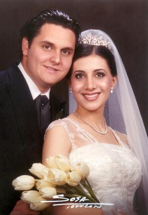 Arq. Arturo Mijares y C.P. Sofía Papadópulus contrajeron matrimonio el 22 de marzo de 2003