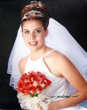 Lic. Laura Elena García Robles el día de su enlace nupcial con Lic. Francisco Marlon Domínguez