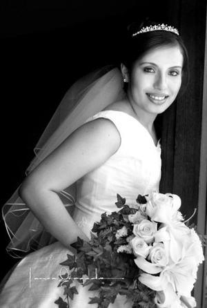 Srita. Marisol Ramírez Núñez el día de su enlace nupcial con el Sr. Cristobal Ramirez