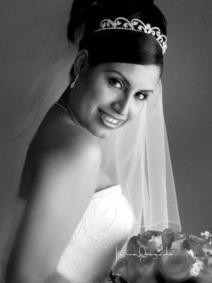 C.P. Rocío Salas Chávez el día de su enlace matrimonial con el C.P. Javier Óscar Trigo Favila