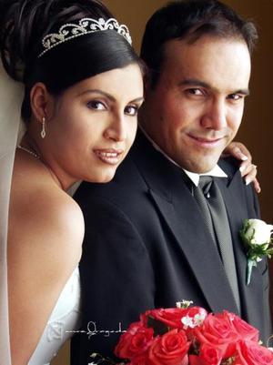C.P. Javier Óscar Trigo Favila y C.P. Rocío Salas Chávez contrajeron matrimonio el 17 de mayo de 2003