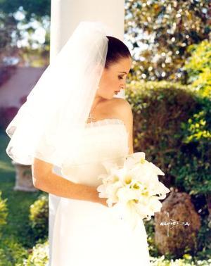 Srita. Valeria Boehringer Farías el día de su enlace matrimonial con  Sr. Ignacio Berlanga Pedraza