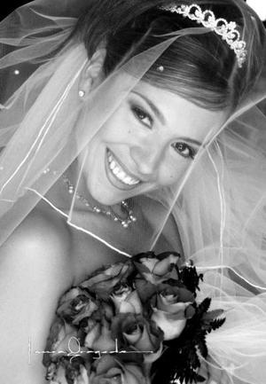 Lic. Verónica Villasana el día de su enlace nupcial con Lic. Jorge Alberto Flores Zertuche