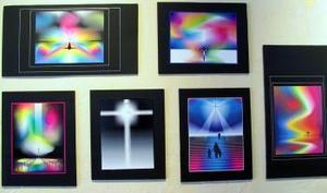 Parece sencillo, pero no lo es. Y además, ofrece la posibilidad de lograr una gama inimaginable de colores, hasta llegar a las más de 32 millones de tonalidades. A través de la computadora, Jesús Jáuregui logró 95 imágenes que reunió en la muestra Ciber-Art.Com