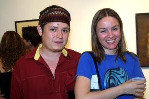 Carlos Reyes y Nilza Garza Girón.