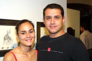 Corina Godoy y Jaime Solís.