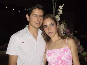 Jorge Rivera y Lorena Iturbide.
