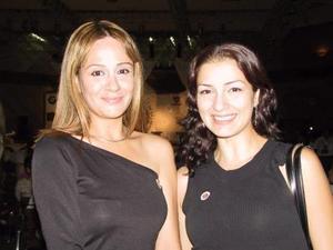 Laura Aramburo y Fabiola Escalante.