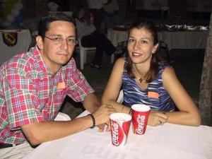Luis Gómez y Catalina Sagui.
