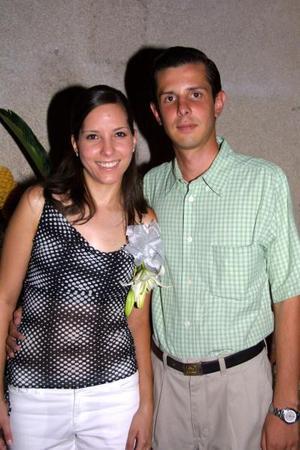 Mariana Delgado Medina y Javier Robles Heimpel.