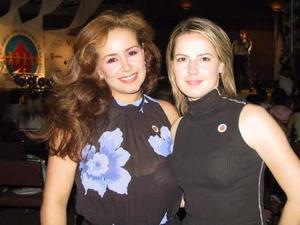 Mayra Peregrina de Morales y Laura López.
