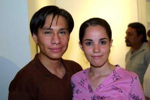 Miguel Orejel y Shelley Valdés.