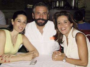 Elsa N. de Ezquerra, Guillermo Salmón y Esteña S de Salmón.
