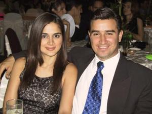 Alejandra Jaik de Mesta y Guillermo Mesta.