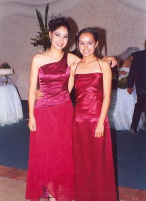 Diana Chávez y Maura Cruz