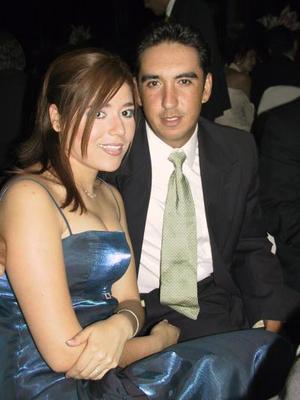 Diana Herrera y benjamín Lavín.