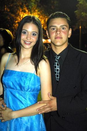Fernanda Estrada y Guillermo Serna.