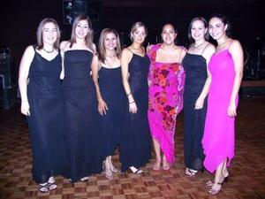 Mercedes Rosales, Lorena Garza, Cielo Eguía, Andrea valencia, Renata Garza, Ana Brenda Esperón y Nallely Cárdenas.