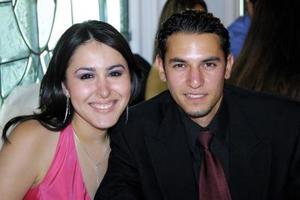 Elisa Esperanza Gutiérrez y Raúl Vera.