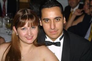 Laura Lozano y David Vega.