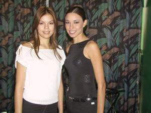 Alejandra Muñoz y Adriana Sosa, señoritas Turismo de Lerdo y Gómez Palacio, respectivamente