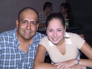Eduardo Ramos y Adriana Morales.