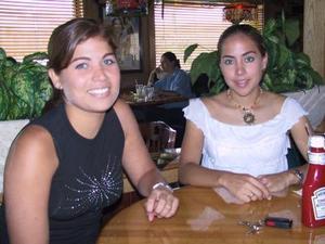 Jimena Palma Mier y Terán y Alicia Jaime de Ruiz.