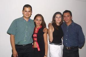 Jorge Briceño Gómez y Cynthia de los Santos Sanchez; Marycarmen Quintero y  Rodolfo de los Santos Sánchez.
