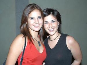 Mariana Peña y Estela Alatorre.