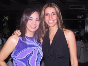 Susana Silos y Jessica Yacamán