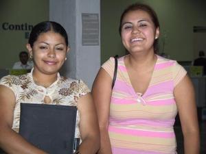 Flor Hernéndez y Marissa rangel se trasladaron a Culiacán, donde vacacionarán.