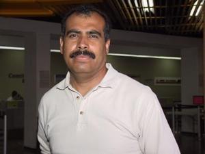 Jesús Piña se trasladó a Ciudad Juárez, para tratar asuntos de trabajo.