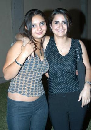 Barby Jaidar y Mariana Madero en una feista celebrada recientemente.