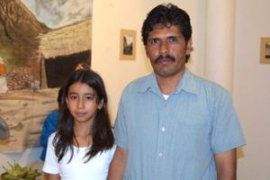 Brenda y Apolonio Acosta.