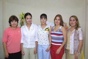 Thalía Medrano, Lupita y Ruth Medrano, Alejandra y Norma Riesco.