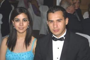 Karina Mier y Jorge Vega.