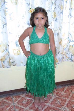 Paola Marisol Morón Martínez festejó su octavo cumpleaños, es hija de  Mario Morón y Celia Martínez.