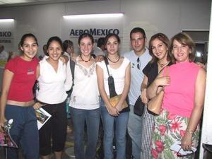 A Mazatlán viajaron Elizabeth de Abraham y Yolanda Trasfi, con sus respectivos hijos, Guillermo, Ely, Valeria, Yolis y Laura.