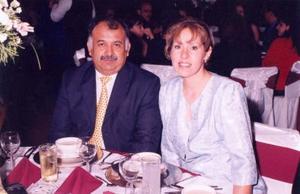 Camilo Valdez y Laura Gurrola de Valdez.