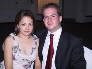 Paola Rivera y Gerardo Valdés