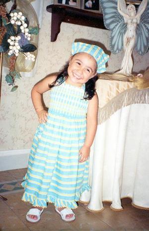 Fernanda González Ávila celebró su tercer años de vida con una fiesta infantil.