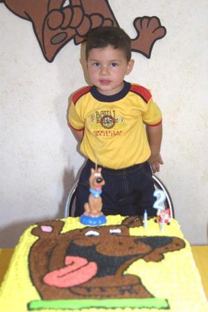 José Luis Contreras Ríos Zertuche cumplió dos años de edad; es hijo de los señores José Luis Contreras y Karen Ríos Zertuche.