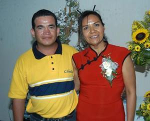 Lázaro López y María del Socorro Wong