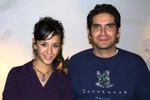 Pamela Montfort y Omar Ramón.