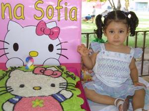 Ana Sofía López Mendoza, el día de su cumpleaños.